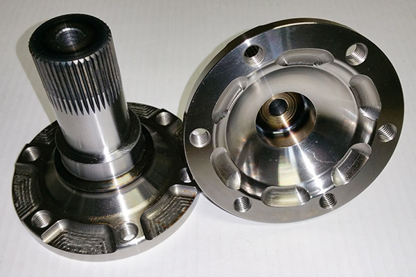Differential flange for porsche 911/930