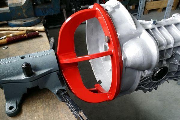 Motor Getriebehalter F 252 R Service Und Reparatur